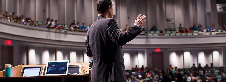 David Pizarro teaching PSYCH 1101
